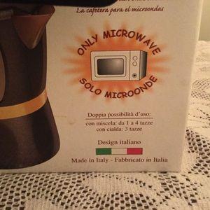 Mamy microwaveable coffee maker